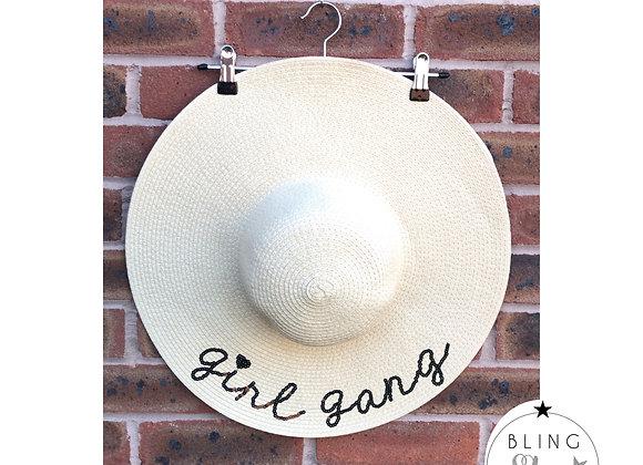 Girl Gang Beach Hat