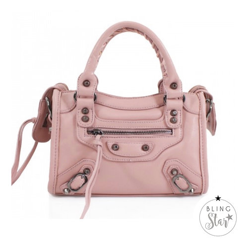Mini City Messenger Pink
