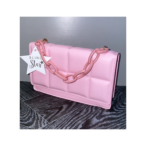 Mini Cube Messenger Pink