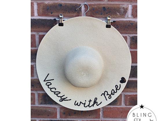 Vacay With Bae Beach Hat