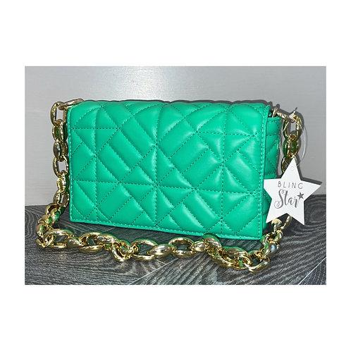 Sara Diamond Messenger Green