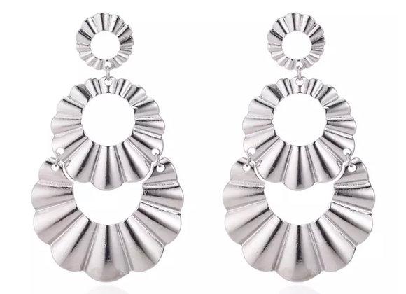 Capri Earrings Silver