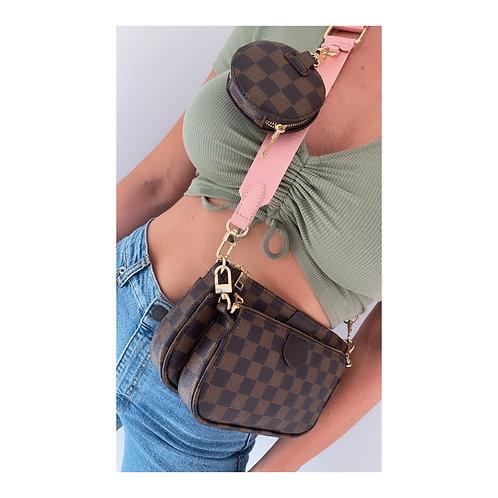 Miami Pouch Bag Brown