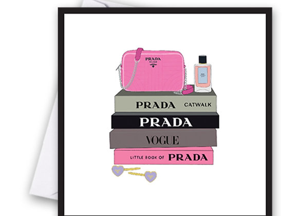 Prada Books Card