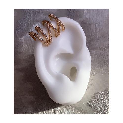 Diamond Ear Wrap Cuff