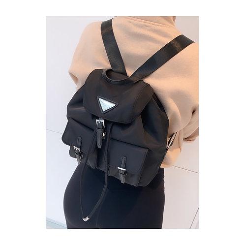 Triangle Backpack Black