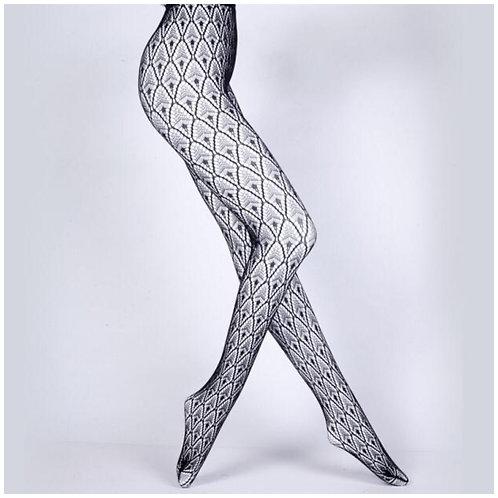 Diamond Fish Net Tights