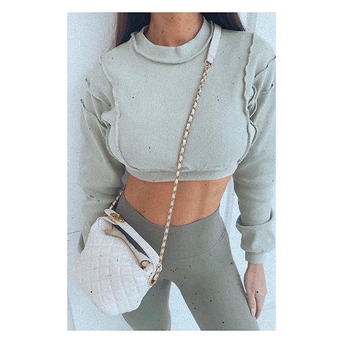 Clarissa Quilted Bag Beige