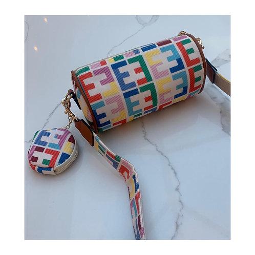 Kyra Rainbow Baguette Bag
