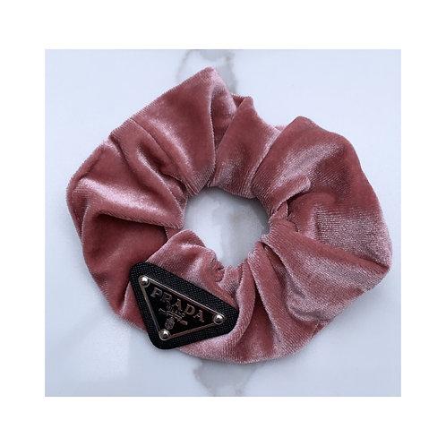 Triangle Scrunchie Pink