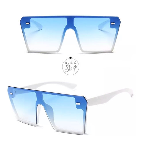 Aspen Oversized Shades Blue