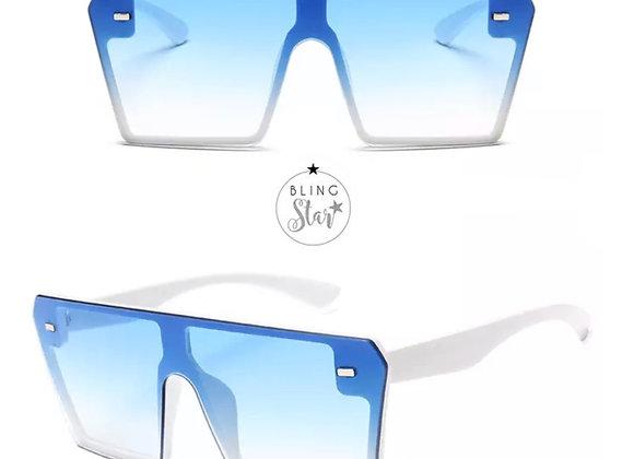 Aspen Oversized Shades Blue