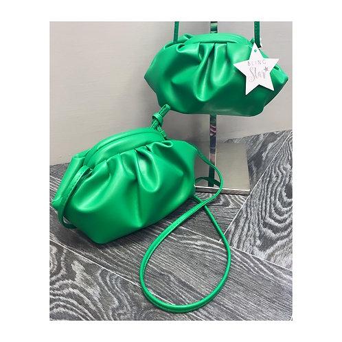 Mini Pouch Bag Green