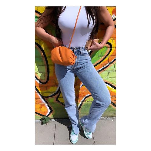 Slouch Pouch Bag Orange