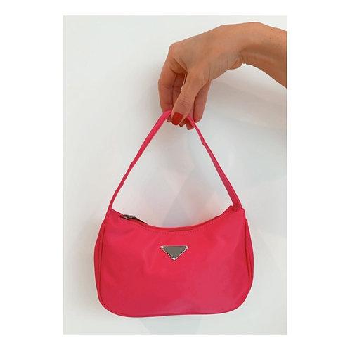 Triangl Mini Handbag Fuchsia