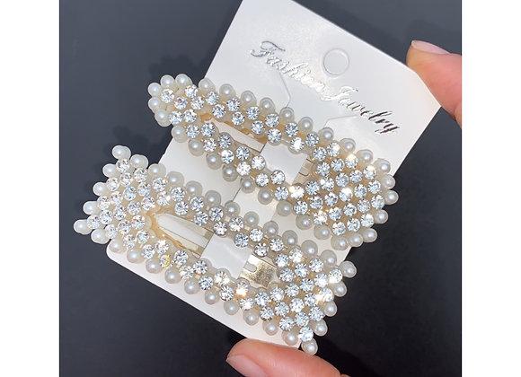 Diaz Pearl Diamanté Set