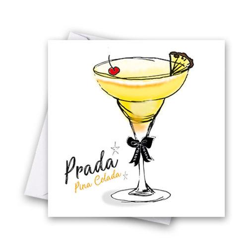 Prada Cocktail Card