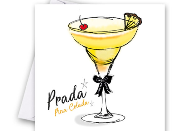 Prada Cocktail Card