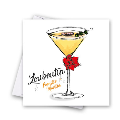 Louboutin Cocktail Card