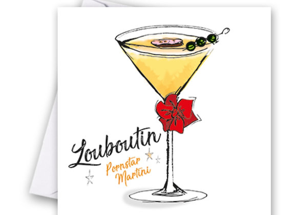 Louboutin Cocktail Card
