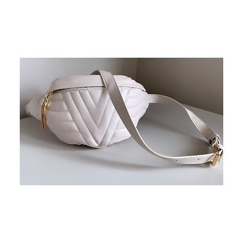 Stella Tassel Belt Bag Beige