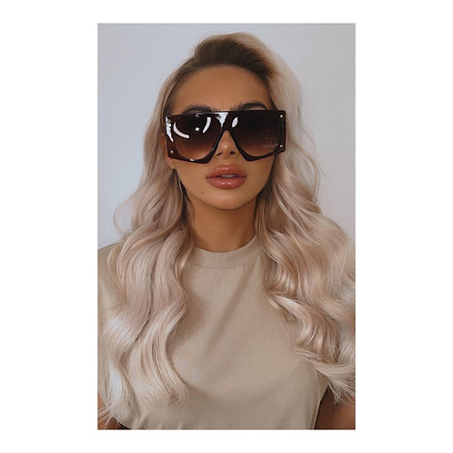 Montana Oversized Shades Brown