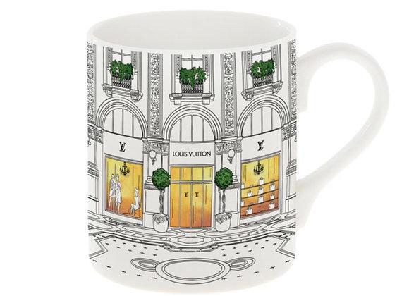 Louis Vuitton Shop Window Mug