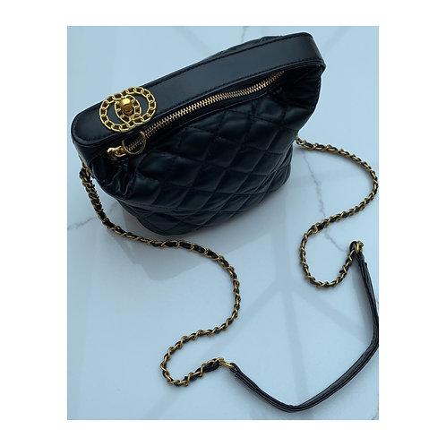 Clarissa Quilted Bag Black