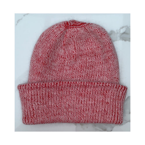 Cashmere & Wool Beanie Red
