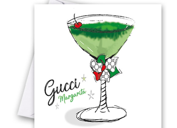 Gucci Cocktail Card