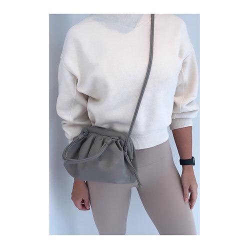 Sofia Pouch Bag Grey
