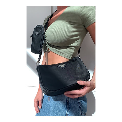 Savannah Multi Pouch Bag Black