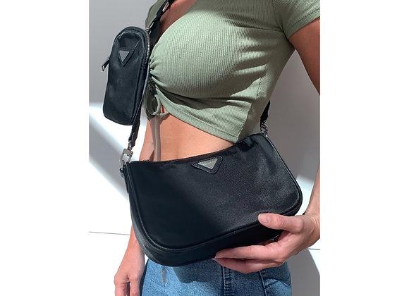 Savannah Multi Pouch Bag Black