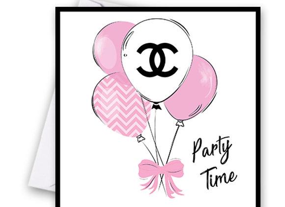 Chanel Balloon Card