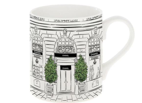 Chanel Shop Front Mug