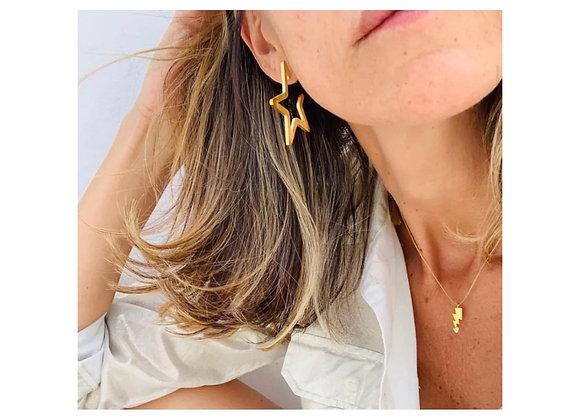 Estella Cut Out Star Earrings
