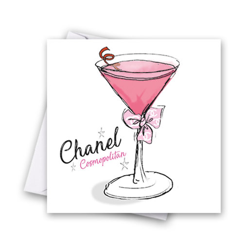 Chanel Cocktail Card