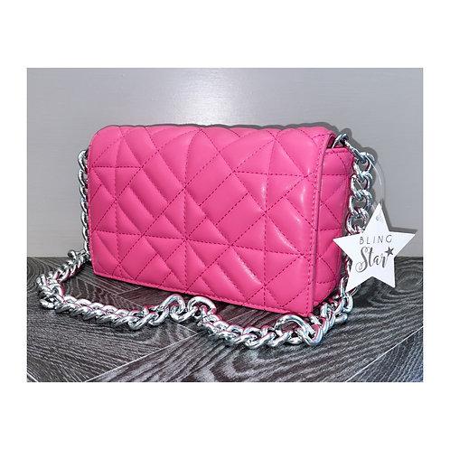 Sara Diamond Messenger Pink