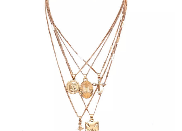 Florence Layer Chain Gold