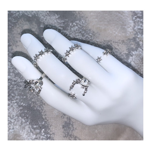New Moon Ring Pack