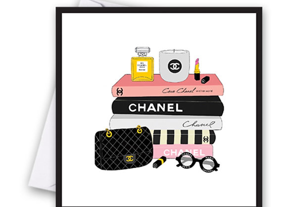 Chanel Books Card