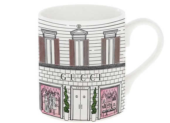 Gucci Shop Front Mug