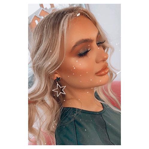 Cute 5 Point Stars Gold