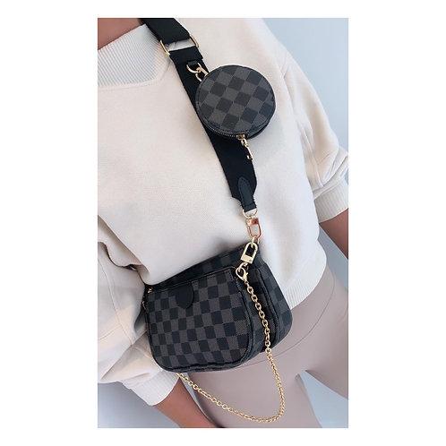 Miami Pouch Bag Black