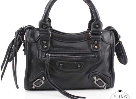Mini City Messenger Black