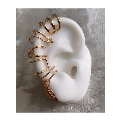 Ear Cuff Set Gold
