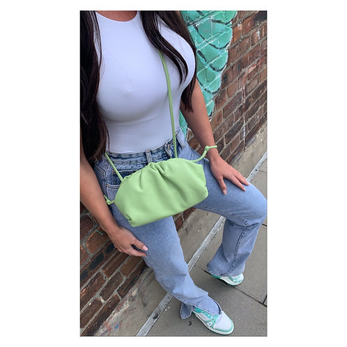 Slouch Pouch Bag Green