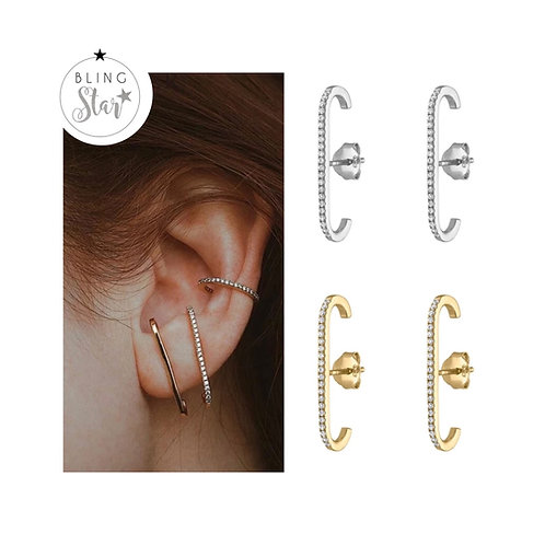 Milan Diamond Ear Bar