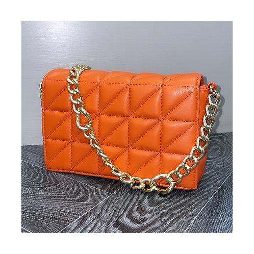 Chelsea Padded Messenger Orange