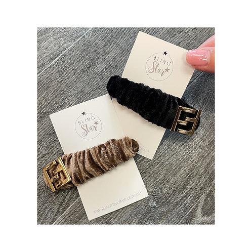 FF Velvet Hair Clip